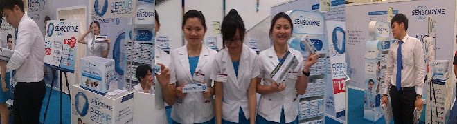 Sensodyne Roadshow tour @ Aeon St.18 on Nov 2012