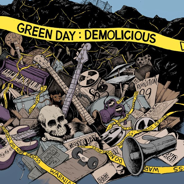 Green Day - Demolicious  Cover