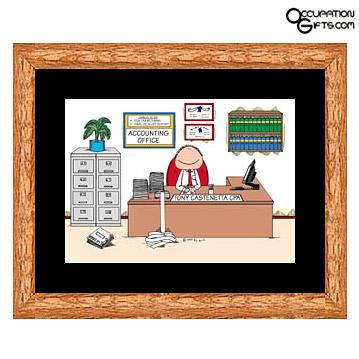 Accountant Figurine2