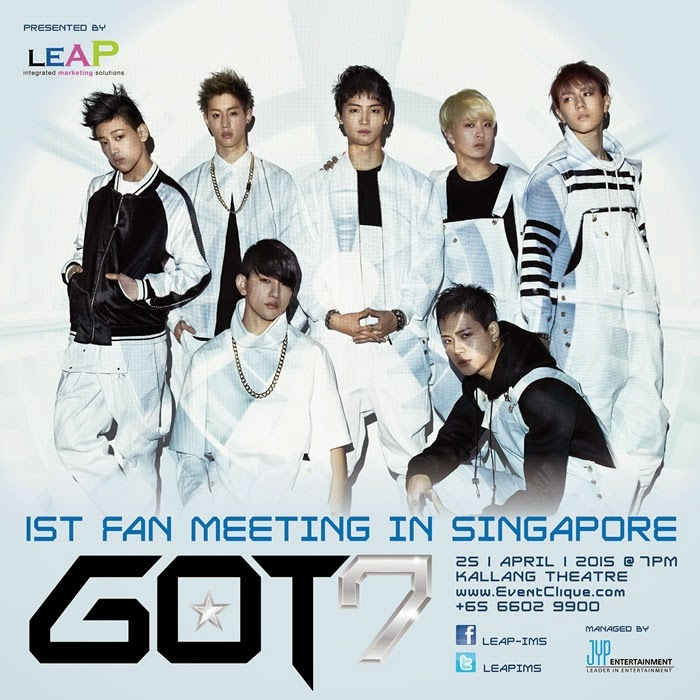 GOT7, Singapura, Malaysia