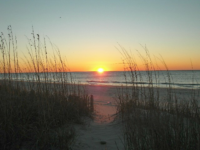 Beach Sunrise Wallpaper , here you can see Grassy Myrtle Beach Sunrise