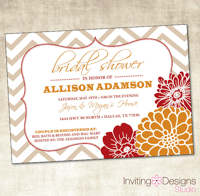 Autumn Wedding Shower Invitations3