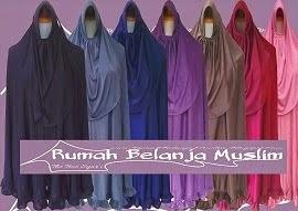 Jilbab Panjang Spandek Sutra