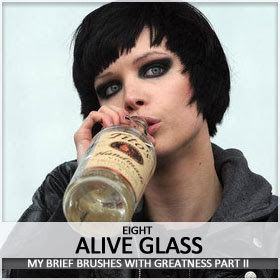 I touched Alice Glass' Ass