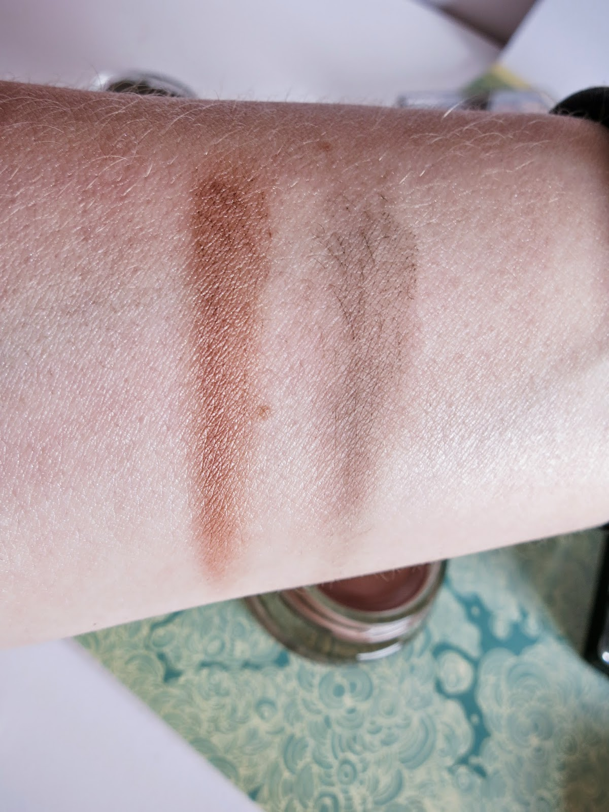 maybelline color tattoos leather shadows UK review