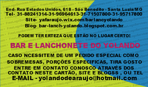 BAR E LANCHONETE DO YOLANDO