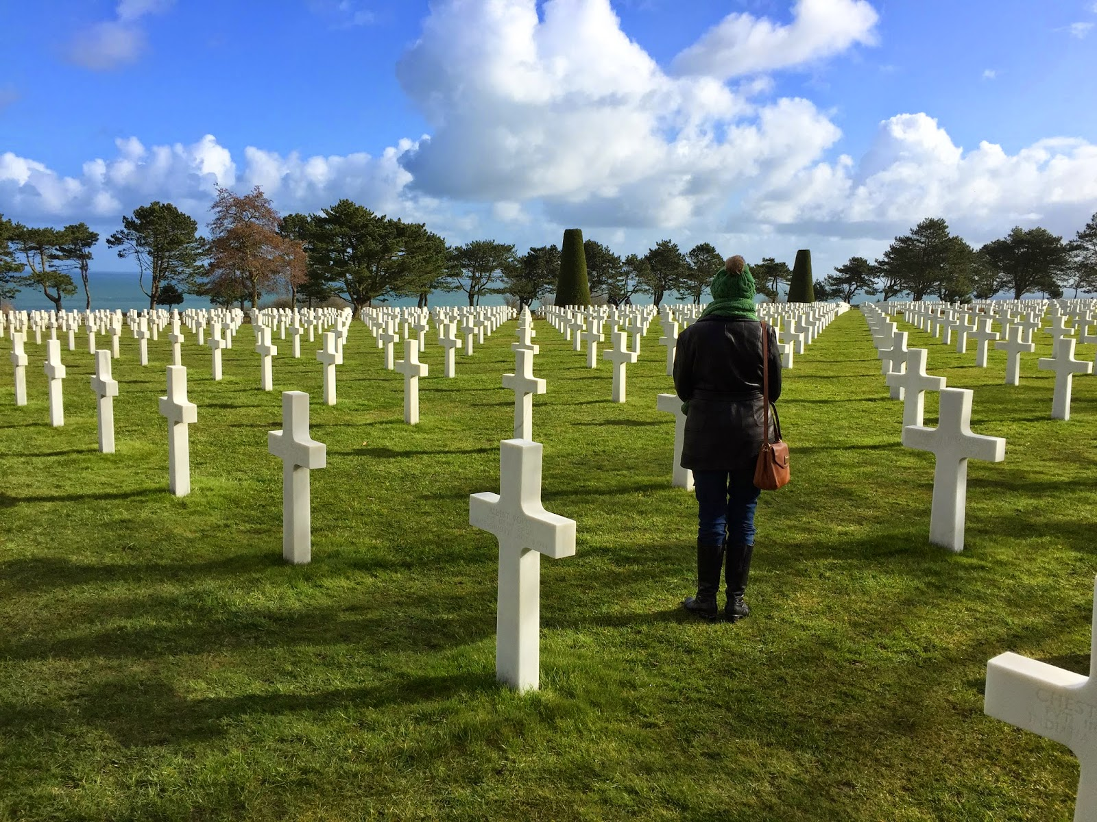 American Cemetary in Normandy, France
