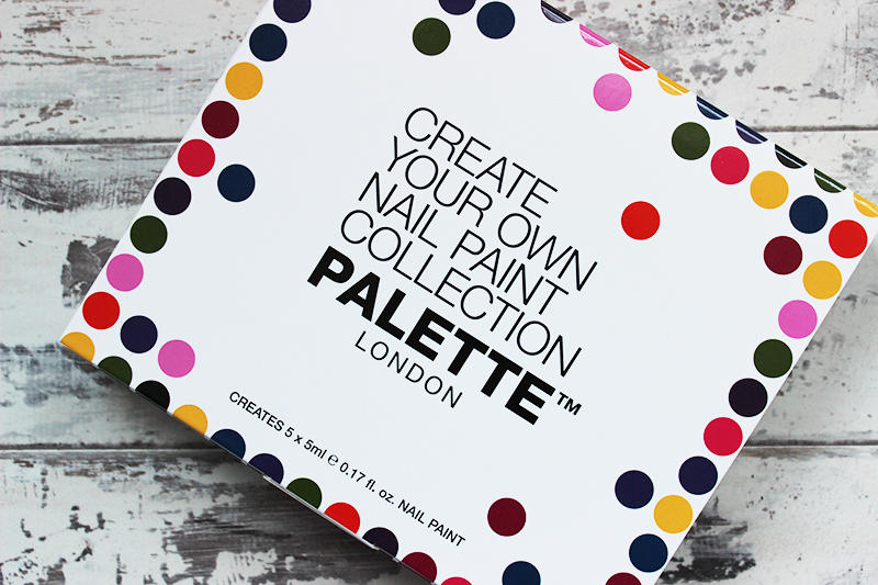 Palette London Create your own nail polish kit