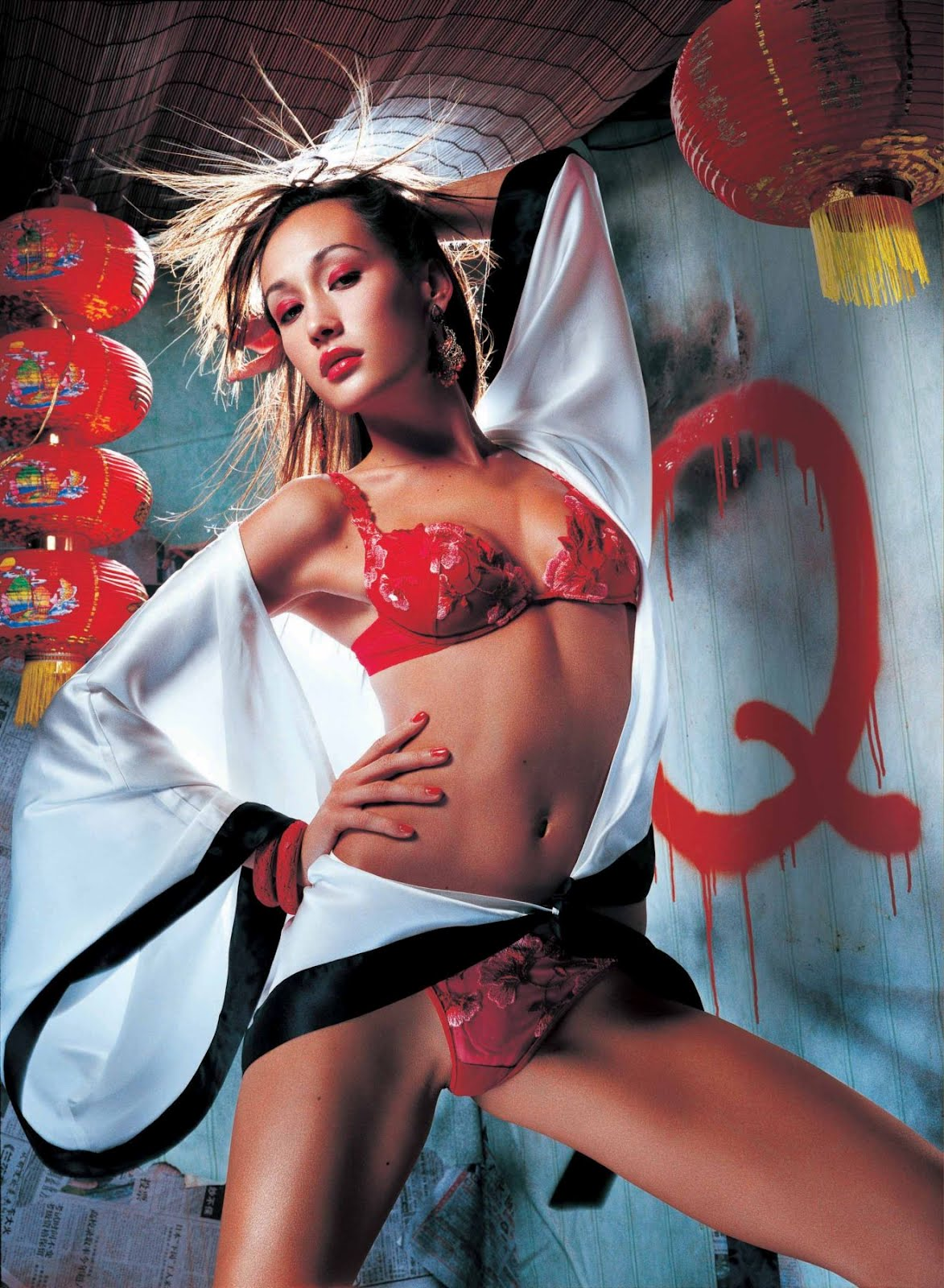 maggie q sexy cosplay photo