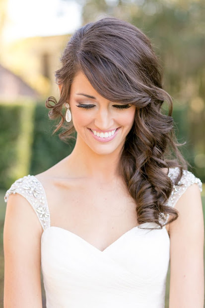 exquisite wedding hairstyles