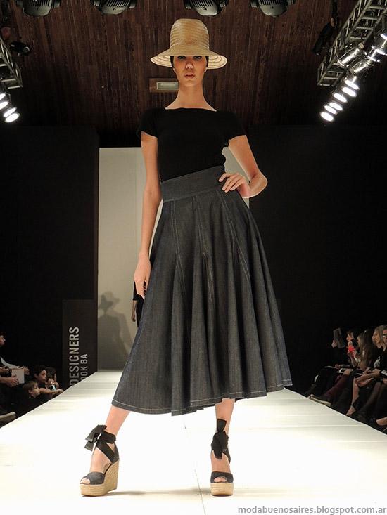 Pablo Ramírez faldas de moda primavera verano 2015. Moda primavera verano 2015.