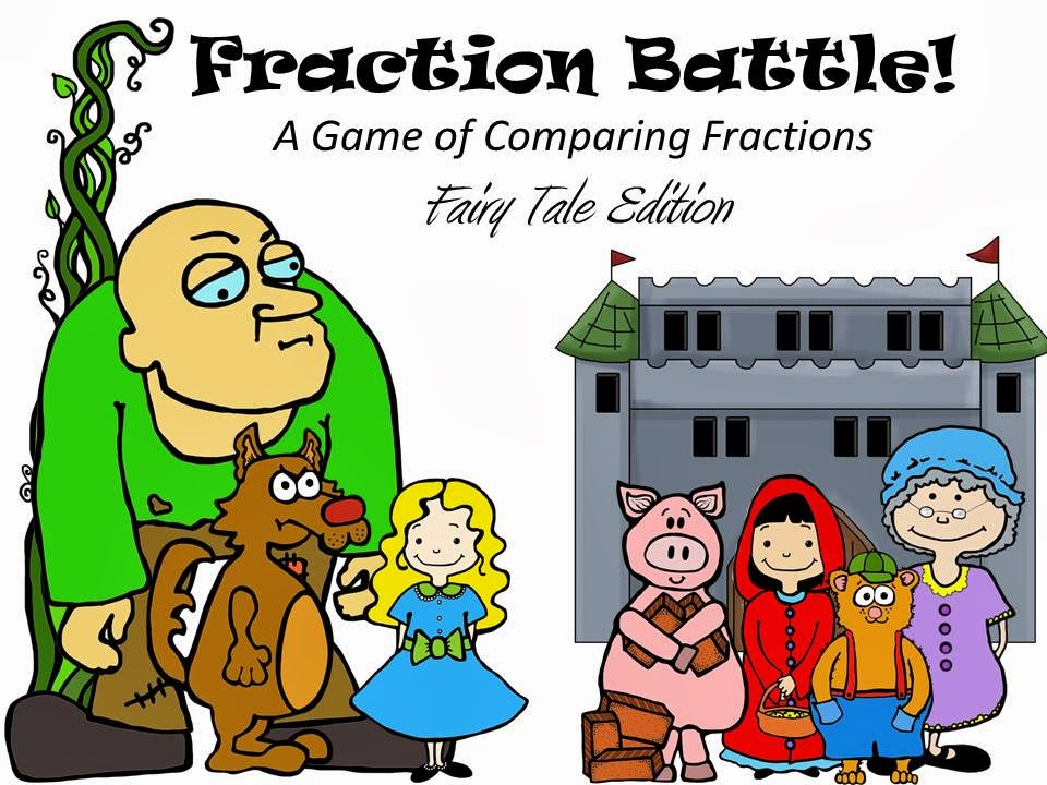 http://www.teacherspayteachers.com/Product/Fraction-Battle-A-Game-of-Comparing-Fractions-Fairy-Tale-Edition-1128010