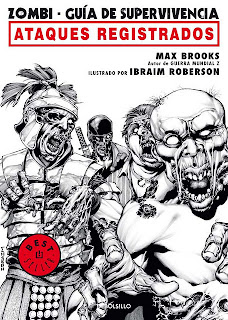 Zombi Guia de Supervivencia – Ataques Registrados Max Brooks Comics MG-PL