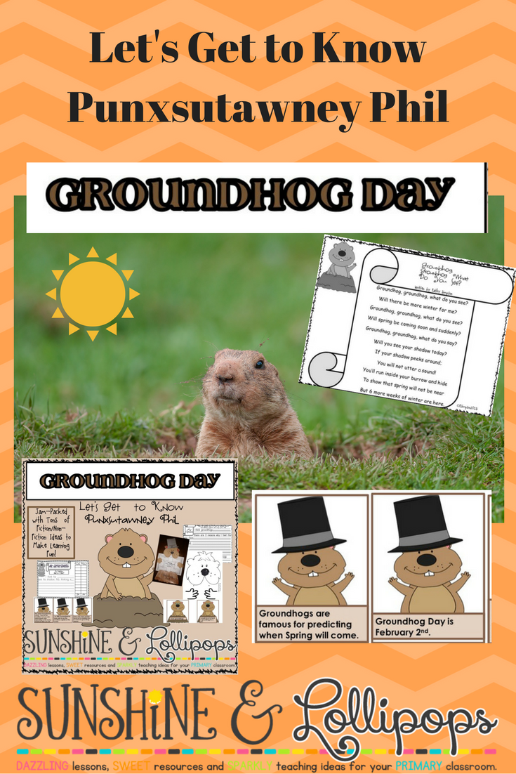 Let's celebrate Punxsutawney Phil