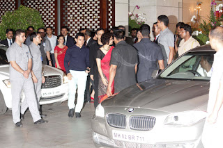 Amir Khan at Mukesh Ambani's Dinner Party for UN Secretary General