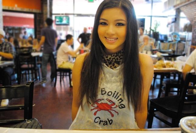 The Boiling Crab, Los Angeles, Koreatown, LA, California, seafood, restaurant, food, fried shrimp, cajun fries