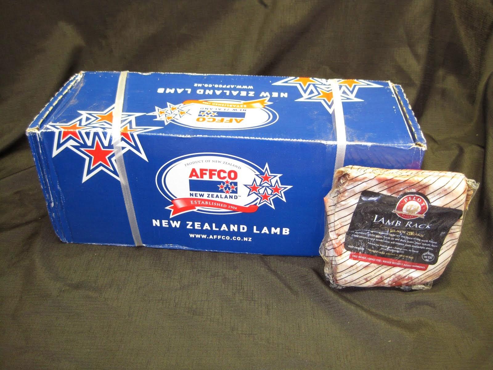 New Zealand Rack of Lamb - Item # 14200 & 14201 for the split