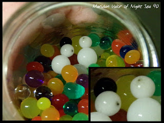 Water Polymer Beads Disaster; I thought I had a good deal. Night Sea 90.