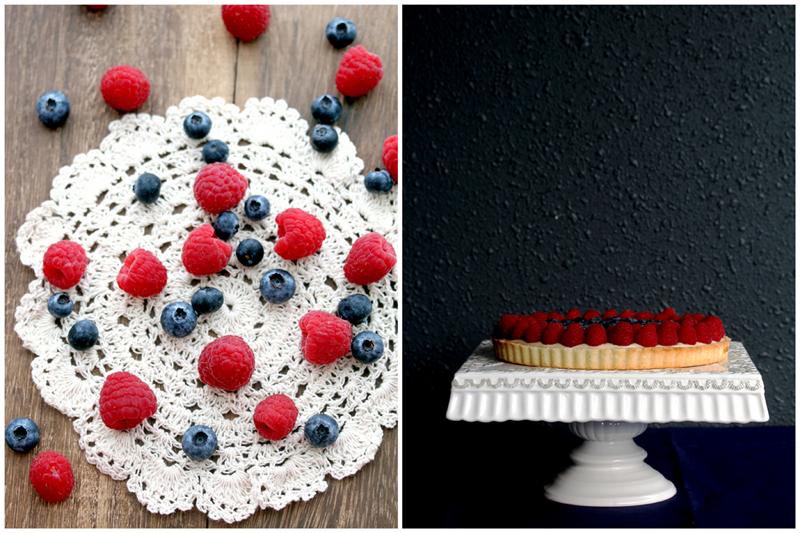 Foodagraphy. By Chelle.: Earl Grey Custard Berries Tart