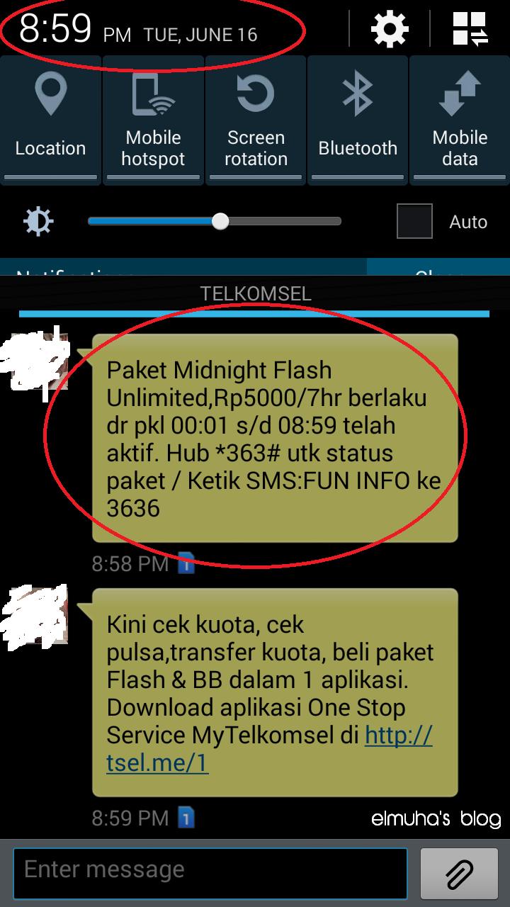 Telkomsel Flash Optima Fun Midnight Hilang Blog Elmuha Kartu Paketan 9gb Cuma Test Masih Works Apa Gak Kirain Ga Ada Pulsanya Ternyata Jadinya Kebeli Deh D Padahal Kuota Loop Sisa Banyak