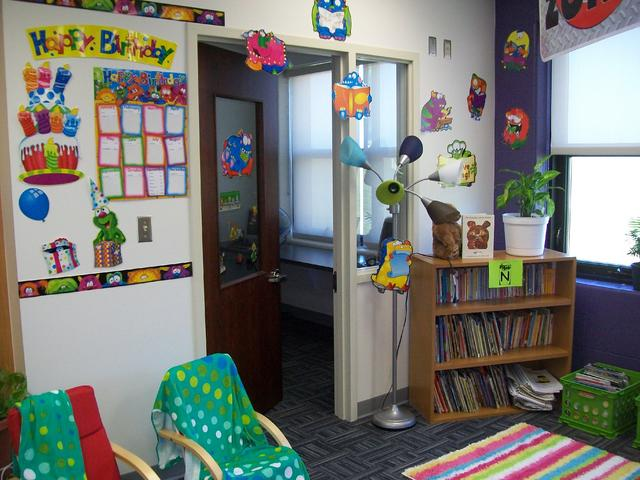 Monster Classroom Decor ~ Monster themed classrooms clutter free classroom
