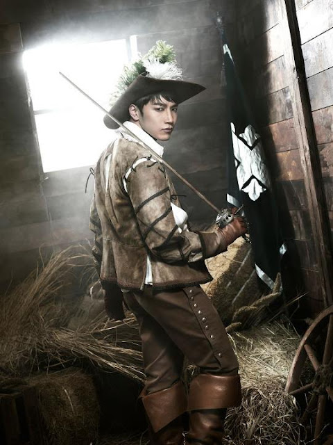 Jun.K 2PM The Three Musketeers