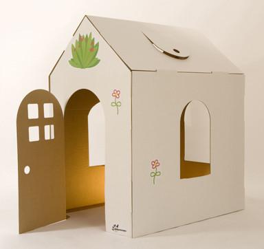 Casas de carton ideas Casas hechas de carton