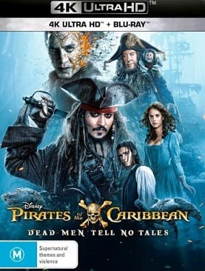 Piratas do Caribe - A Vingança de Salazar 4K Ultra HD Torrent Download