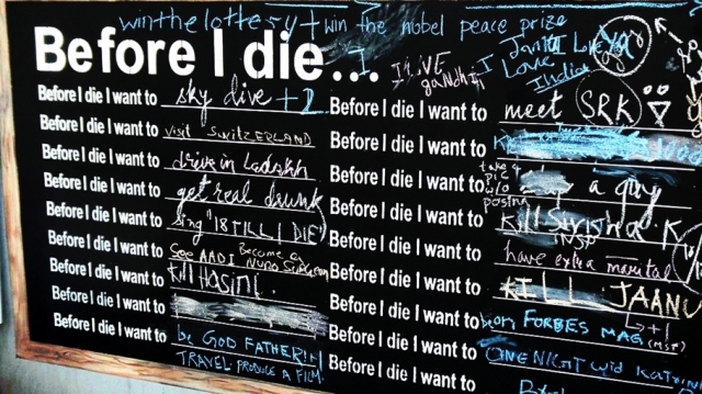 """""""Before I die..."""" - Moje plany i marzenia"""