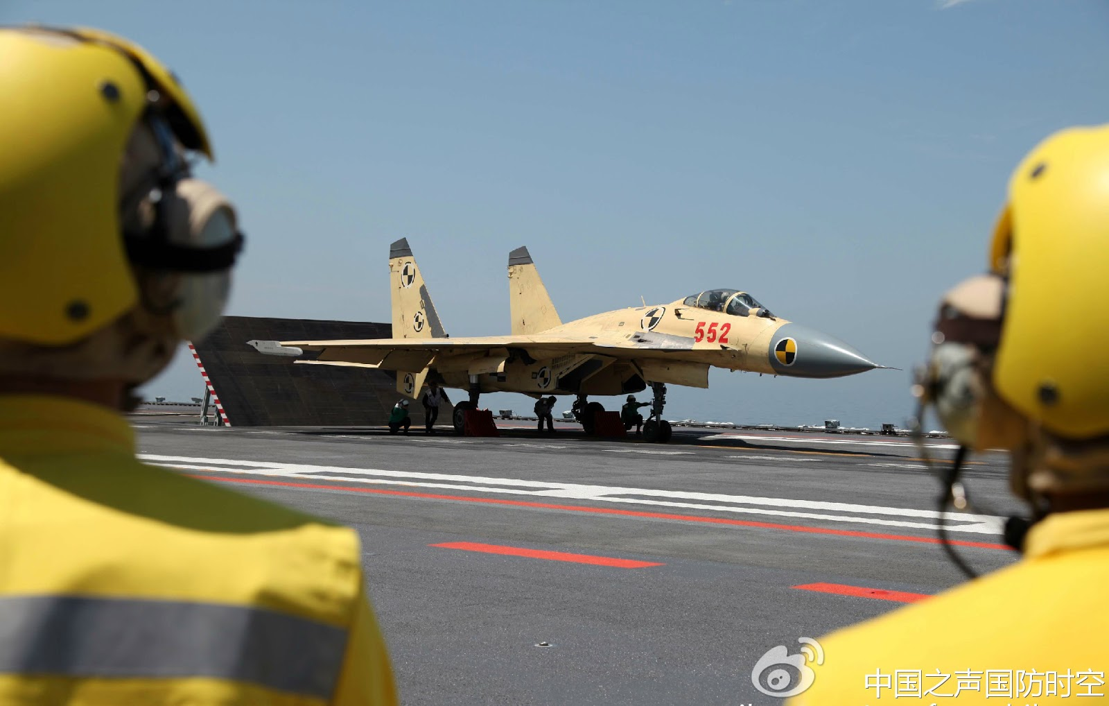Chinese J-15 Flying Shark Carrier Borne Fighter Jet ...