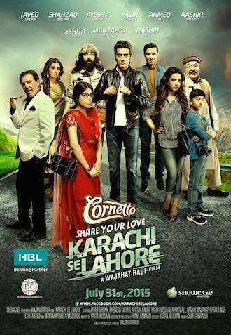 Karachi Se Lahore 2015 Urdu 720p DVDRip 700mb ESubs