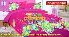 Harga Sprei Bonita Disperse Beauty Pink-bmp19 Jual
