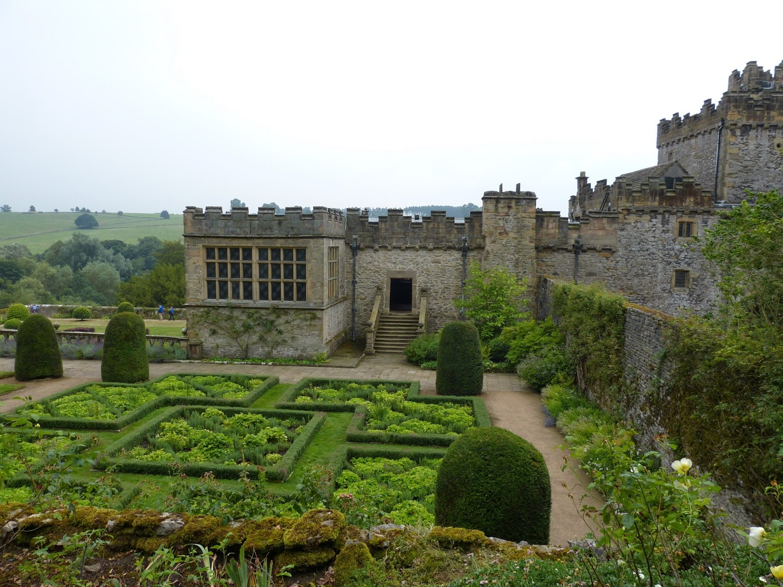 Haddon Hall from the gardens