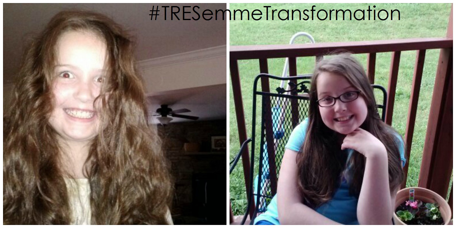 taming morning hair with #TRESemme