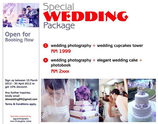 Special Wedding Package Promotion In Penang