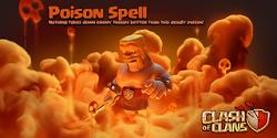 Cara Menggunakan Poison Spell di Game C.O.C