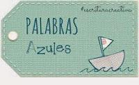 PALABRAS AZULES Premio Nacional de Educación 2014