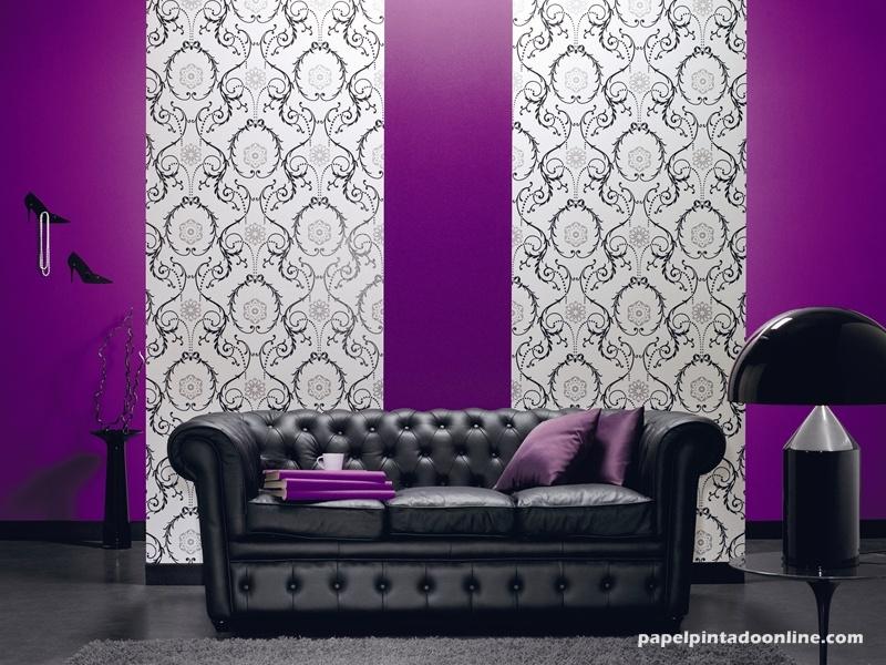 Deco detalles textura en las paredes pensamientos - Papel pintado de pared ...