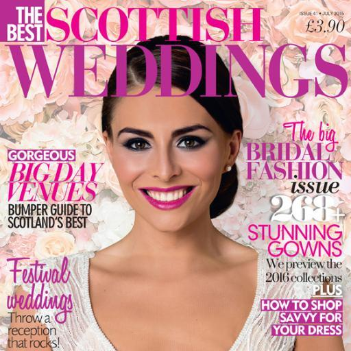 Featured in Best Scottish Weddings