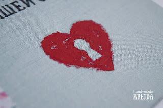 сердце. акрил