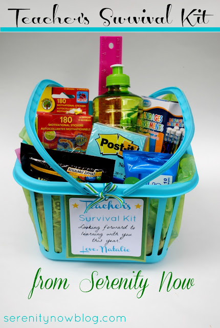 Teacher Survival Kit (Teacher Gift Idea) from Serenity Now