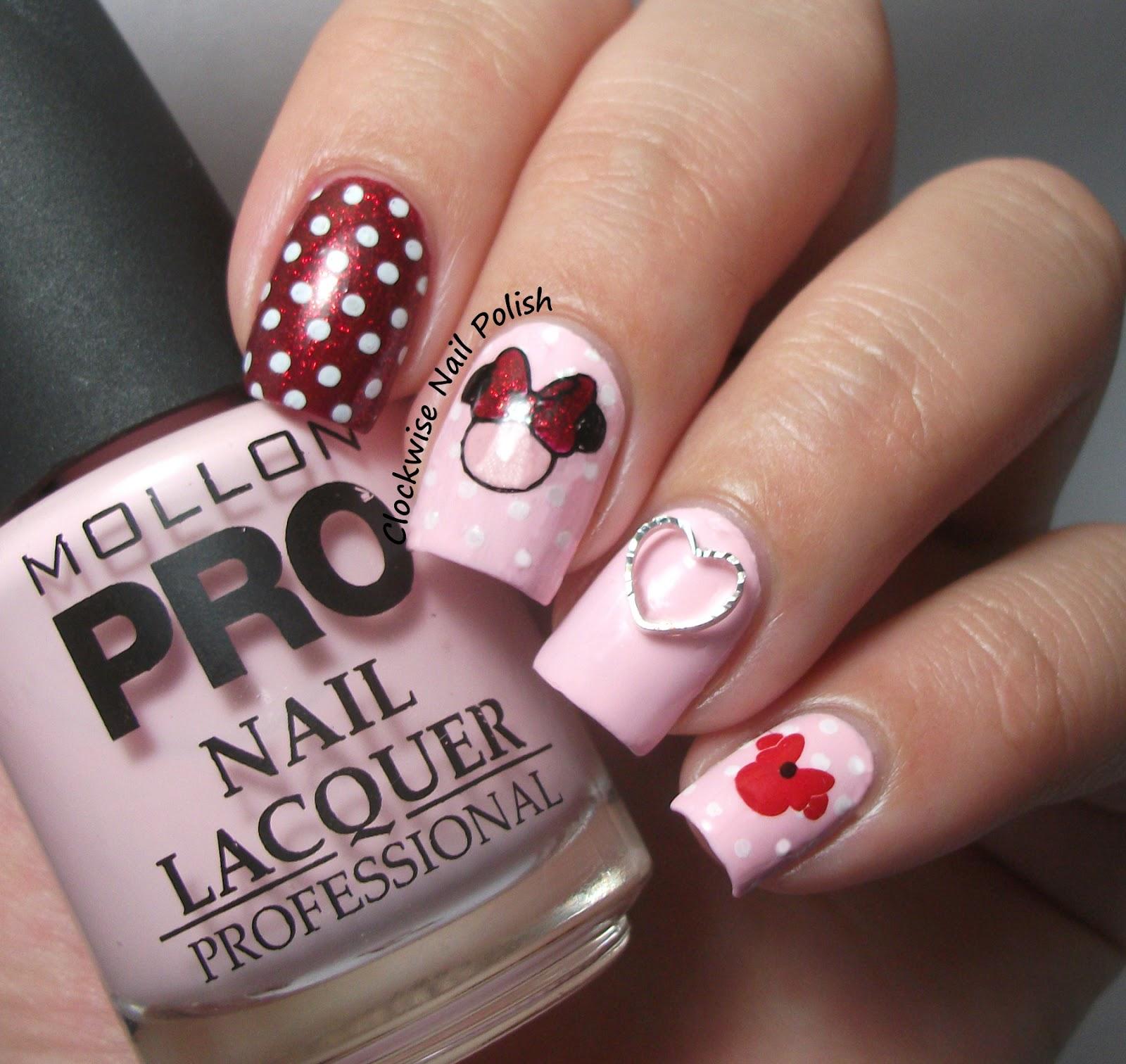 The clockwise nail polish mollon pro 180 amor mini nail art a prinsesfo Images