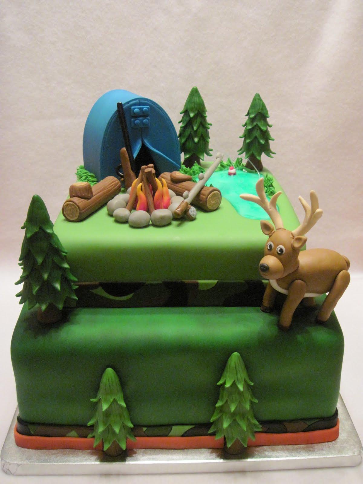 Fishing Grooms Cake
