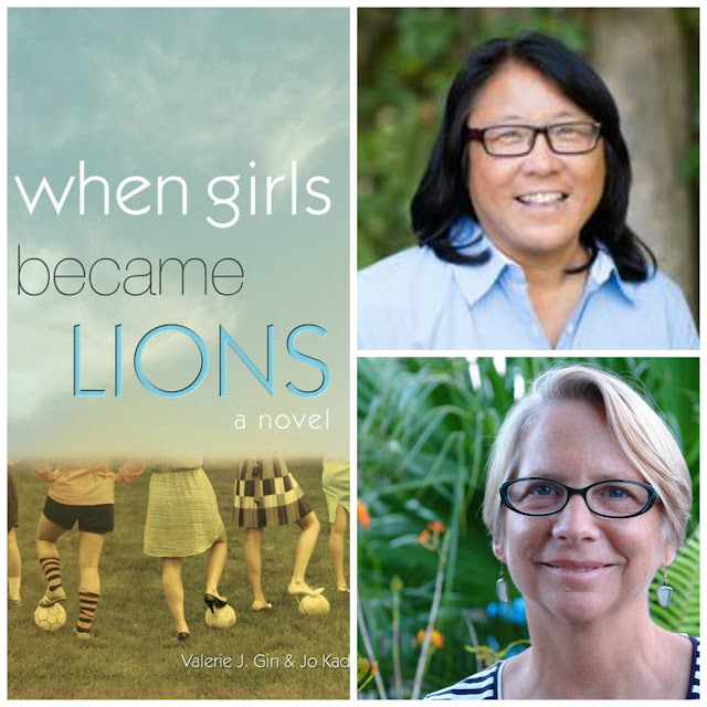 women football soccer novel when girls became lions