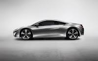 Acura NSX Supercar side