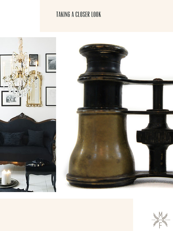 vintage modern traditional home decor