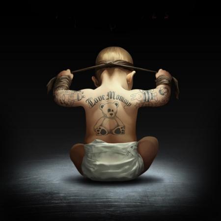 tattooed babies