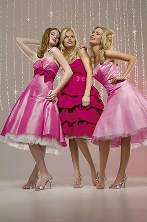 ball gown bridesmaid dress