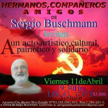 ACTO SOLIDARIO POR SERGIO BUSCHMANN