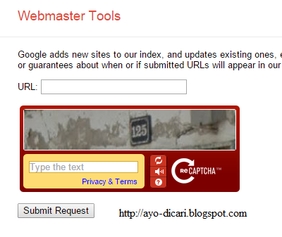 Cara Submit Artikel Blog Ke Google Web Master